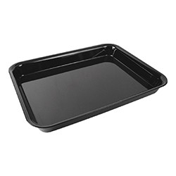 Black Piazza Display Trays