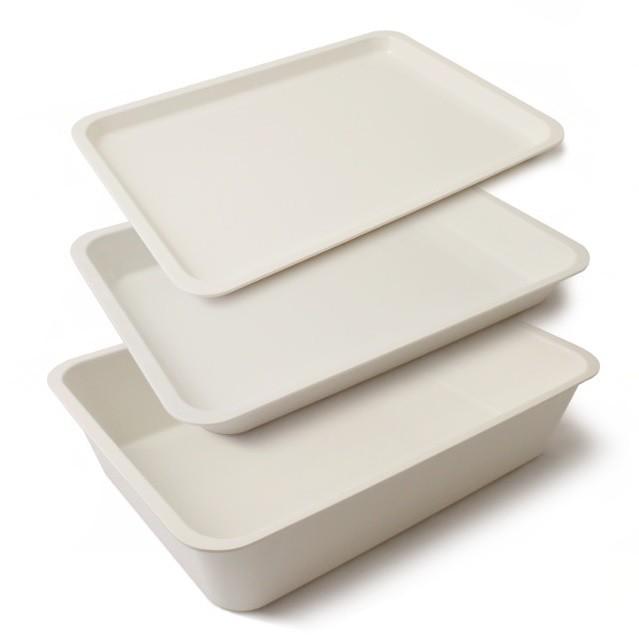 White Melamine Display Trays
