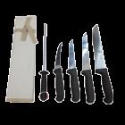 Icel 6 Piece Butchers Knife Starter Pack - Black