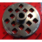 Salvador Size 32 Mincer Plate With Hub Square Holes - 18mm