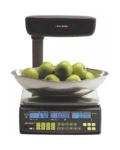 Avery Berkel FX50 Retail Scale With Tower Display & Scoop
