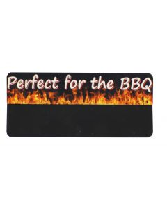 Perfect For The BBQ Promo Tag