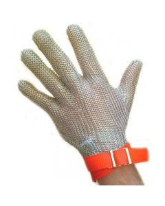 Chainmail Gloves With Fabric Strap