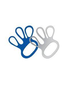 PU Chainmail Glove Tensioner - White
