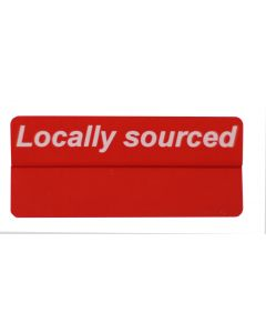 Locally Sourced Promo Tag