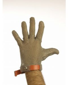 Chainmail Gloves with Plastic Wristband