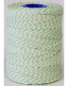 Butchers String Rayon Twine Green & White