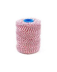 Butchers String Rayon Twine Red & White