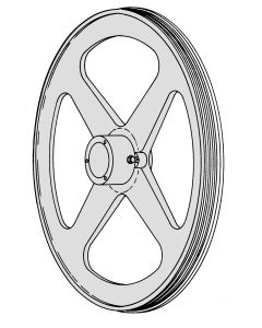 TBS - 2460 Top Pulley