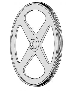 Mincer 2000 - SE 1550 Top Pulley With Bearing
