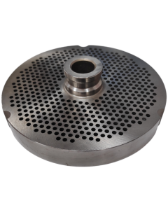 Torrey Size 32 Mincer Plate Long Life with Hub - 2.3mm