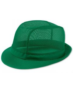 Green Butchers Trilby Hat