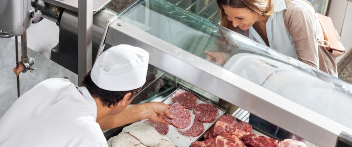 butchers equipment - get people through the door